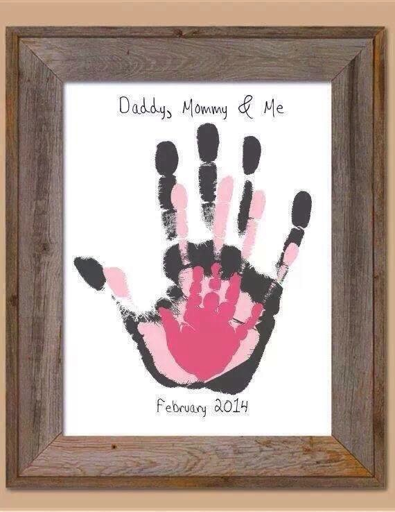 Diy Family Hand Prints Do It Yourself Fun Ideas