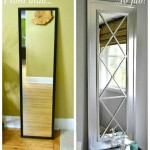 how to diy upcycle mirror