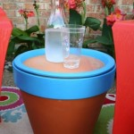 terracotta pot table how-to