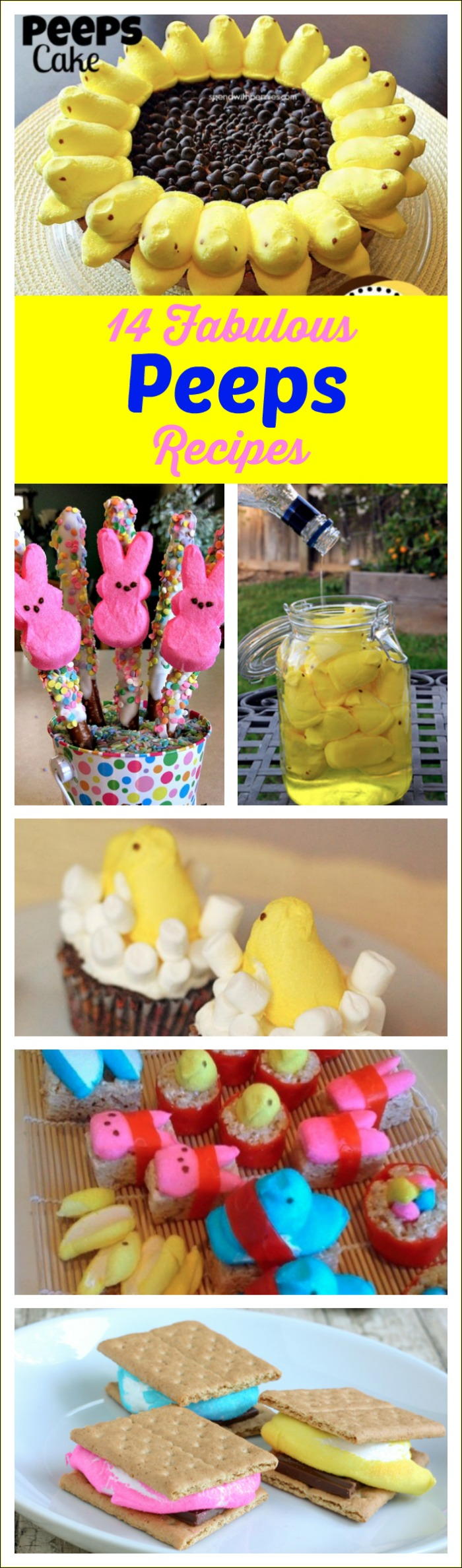 14 FABULOUS PEEPS RECIPES