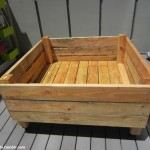 portable raised garden bed on casters