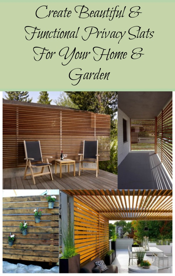Diy privacy slats for home garden do it yourself fun ideas diy privacy slats for home garden solutioingenieria Images