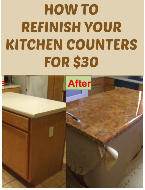 Diy Refinishing Kitchen Cabinets Ideas From Picture On