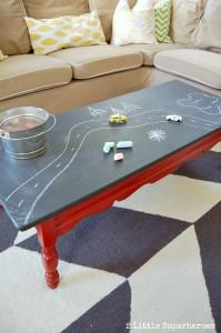 diy chalkboard-coffee-table