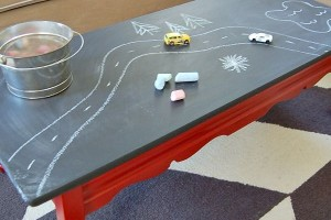 diy chalkboard-coffee-table