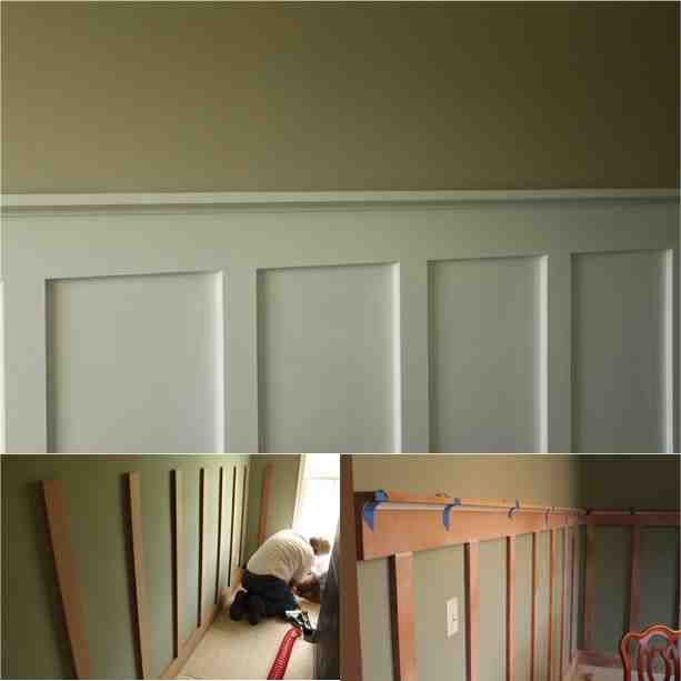 Easy DIY Board And Batten/Wainscoting On A Budget