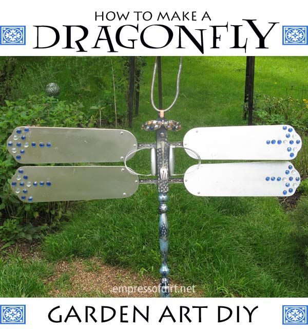 How To Make A Magnificent Garden Art Dragonfly Do It
