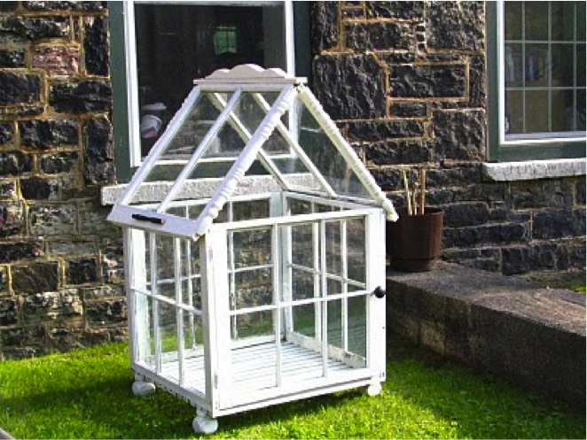 Build A Greenhouse From Old Windows Do It Yourself Fun Ideas