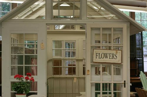 Build a greenhouse from old windows do it yourself fun ideas for Build your own window