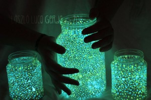 diy glow in the dark fairy mason jar