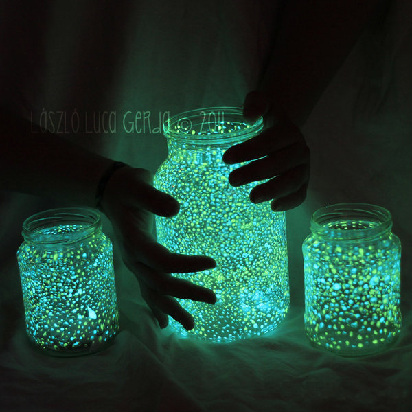 How To Make Glow In The Dark Slime Do It Yourself Fun Ideas