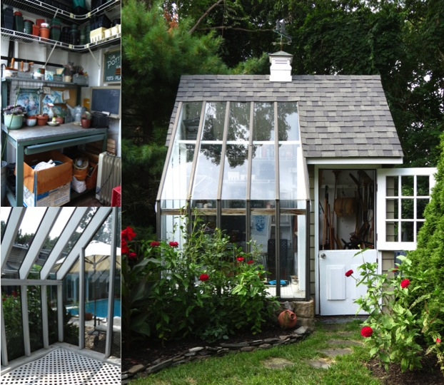 How To Build A Garden Potting Shed Nice Looking Garden Sheds