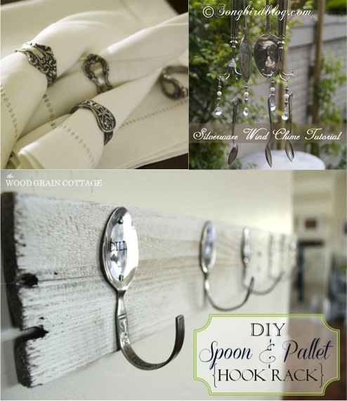 Cool Stuff To Diy With Old Spoons And A Few Forks Too