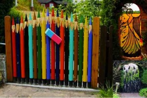 20 amazing unique garden gates