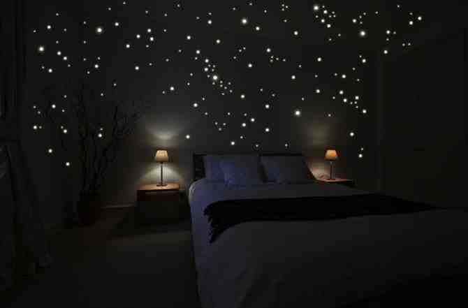 diy star scape for the kids 39 room do it yourself fun ideas
