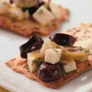 Marinated olives and feta recipe
