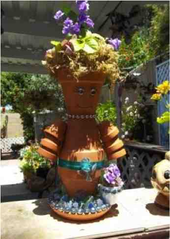 How To Make Clay Flower Pot People Do It Yourself Fun Ideas