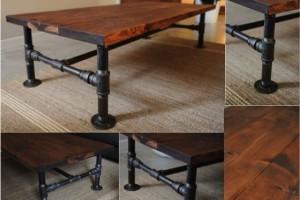 diy industrial table pipe fittings
