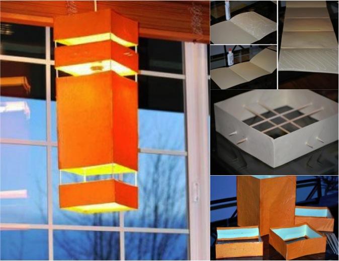 diy japanese hanging lantern