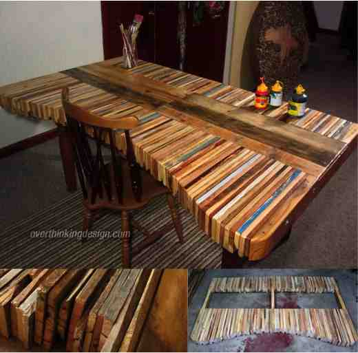 Amazing Diy Pallet Table Do It Yourself Fun Ideas
