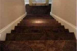 paper bag refinished floors