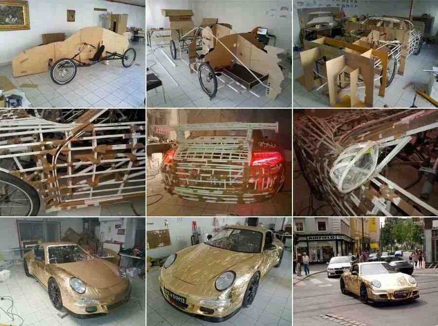 Diy porsche do it yourself fun ideas how to make a porsche solutioingenieria Choice Image