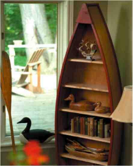 How To Make A Boat Book Shelf