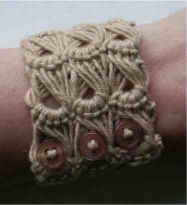 Ravelry: Broomstick lace bracelet pattern by MissCro