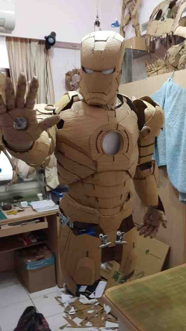How To Make An Iron Man Suit Do It Yourself Fun Ideas