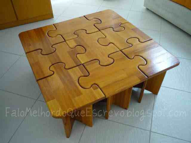 Diy puzzle coffee side tables do it yourself fun ideas puzzle table solutioingenieria Image collections