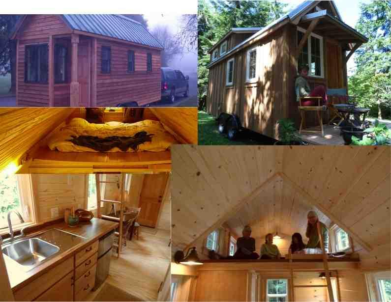 Diy Portable Cabin : Amazing tiny cabin on wheels do it yourself fun ideas