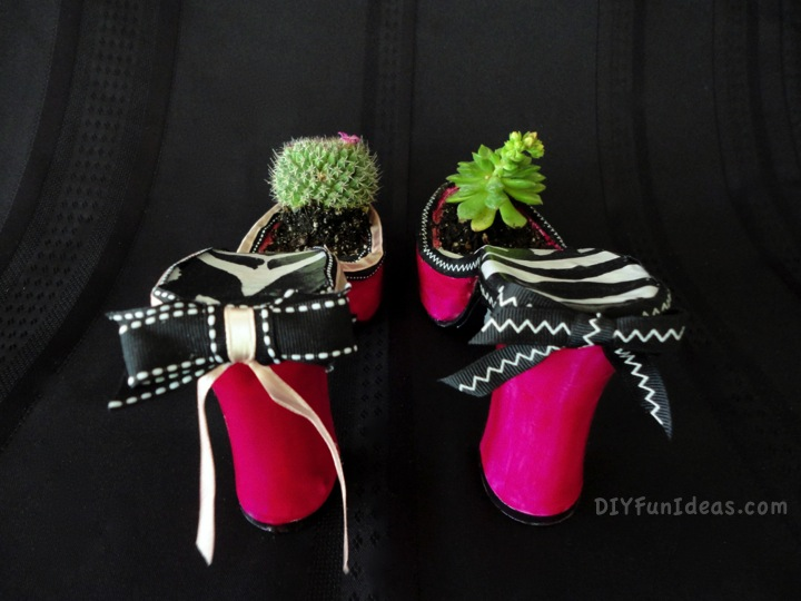 high heel planter