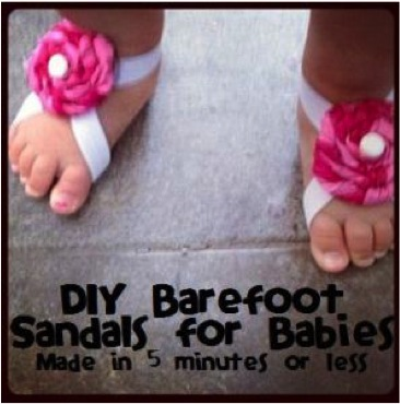 barefoot baby sandals 3