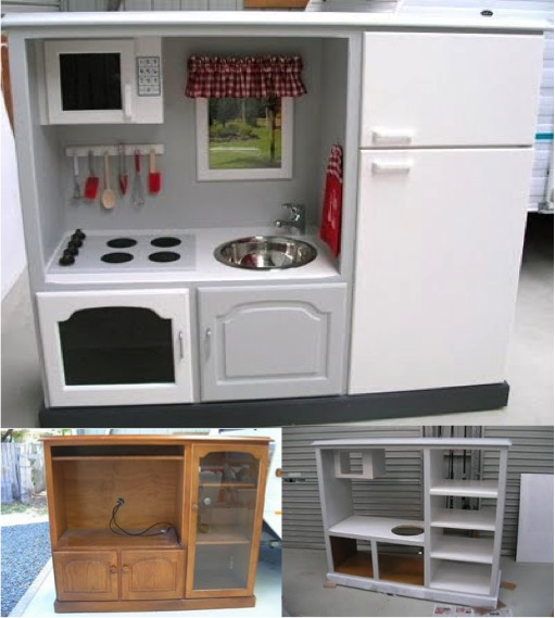 How To Transform A TV Cabinet Into A Kid s Playhouse Do