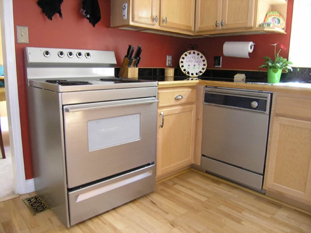 5 DIY Stainless Steel Kitchen Makeovers On The Cheap - Do-It ... Fun Cheap Kitchen Update Ideas on cheap home updates, updated kitchen ideas, visual kitchen design ideas, kitchen nook ideas, cheap shower surround ideas, cheap space saver ideas, yellow kitchen ideas, kitchen shelving unit ideas, practical kitchen ideas, kitchen decorating ideas, top kitchen island ideas, kitchen cabinet ideas, cheap kitchen cabinets, small kitchen ideas, cheap kitchens product, living room decorating ideas, cheap kitchen countertop materials, master bedroom decorating ideas, kitchen backsplash ideas, cheap paint ideas,
