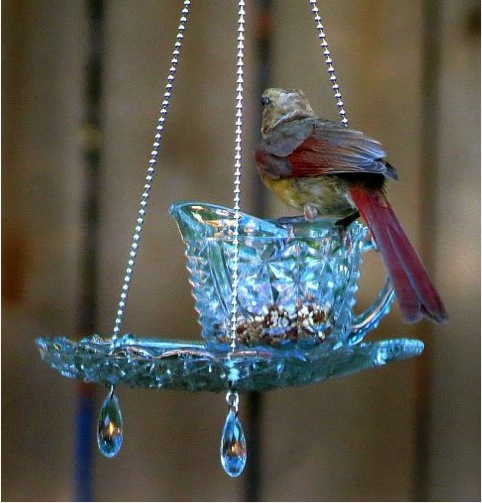 Sisal Rope Bird Feeder - Dabbles & amp; Babbles