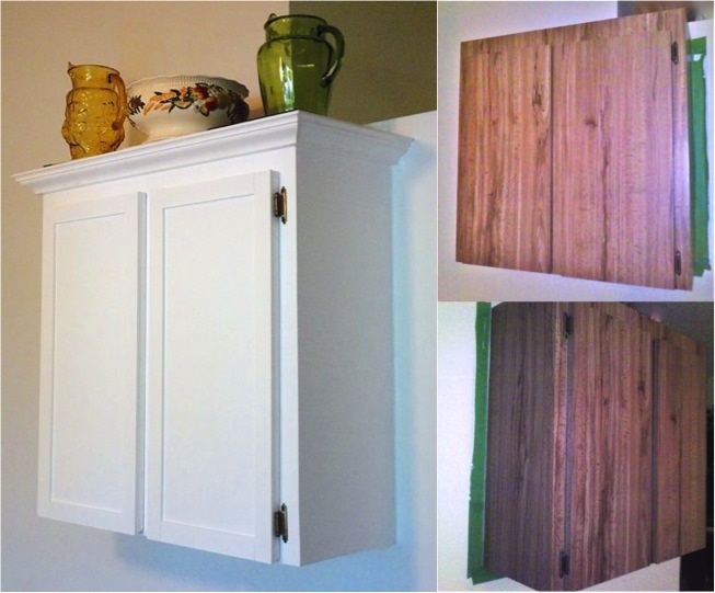 How To Refinish Formica Cabinets + Unique Chalk Paint Recipe -  Do-It-Yourself Fun Ideas