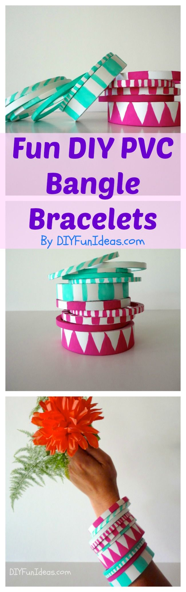 DIY PVC BRACELETS BANGLES