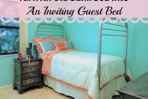 bunk bed to guest bed