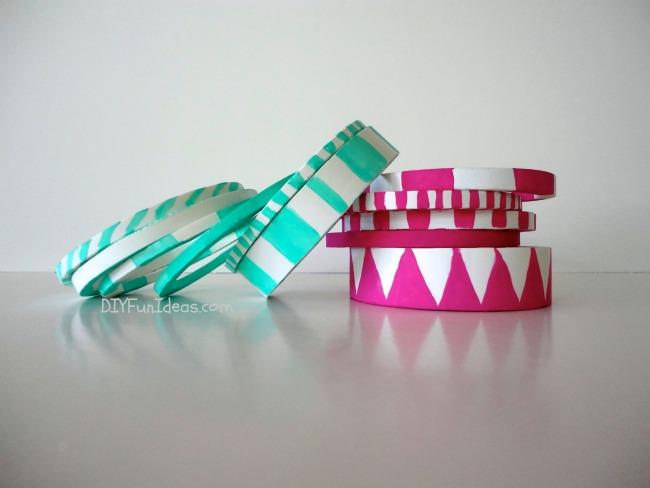 DIY PVC Bracelets