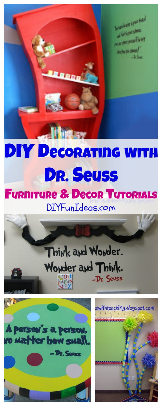 diy decorating with dr. seuss