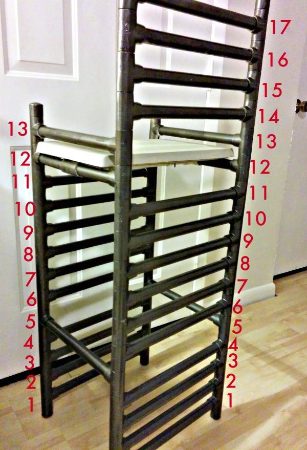 diy concrete pac bar stool