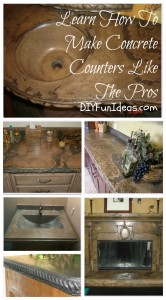 LEARN HOW TO MAKE CONCRETE COUNTERS LIKE THE PROS!