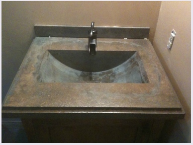 learn to diy concrete counters and sinks