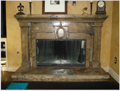 learn to diy concrete fireplace