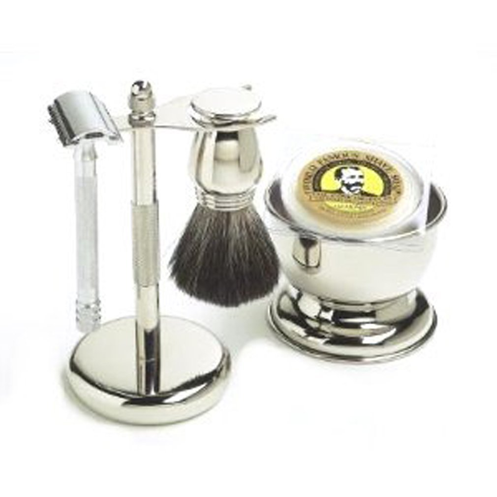 Chrome Shaving Kit