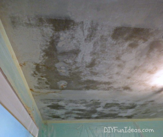 HOW TO REMOVE POPCORN CEILINGS IN 30 MINUTES