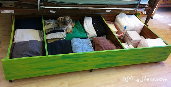 Diy Under The Bed Storage