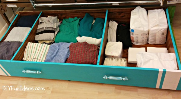 GENIUS DIY UNDER-THE-BED STORAGE SOLUTION