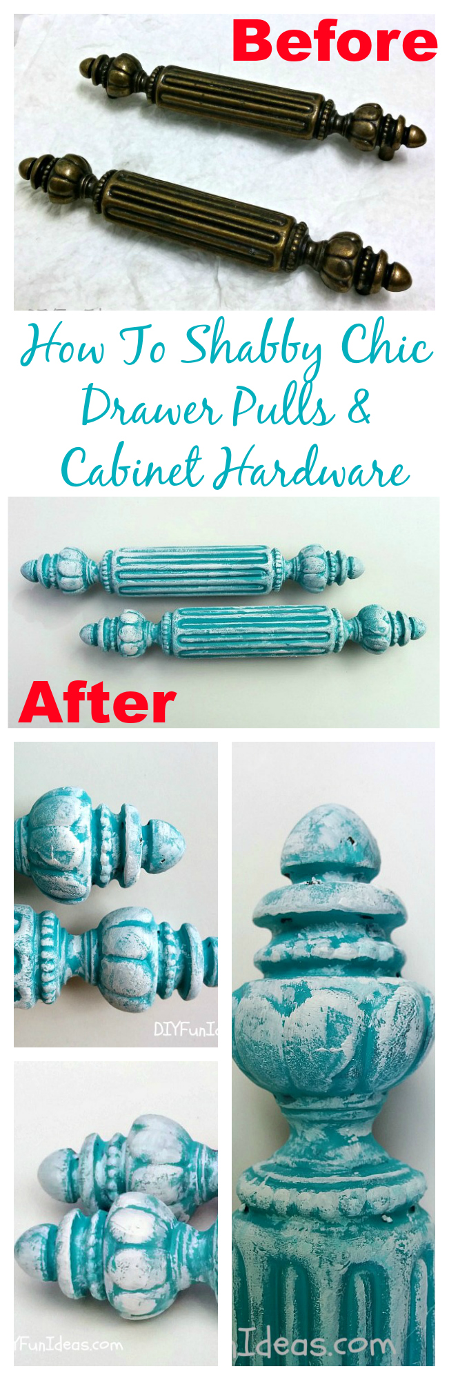 Distressed Cabinet Hardware